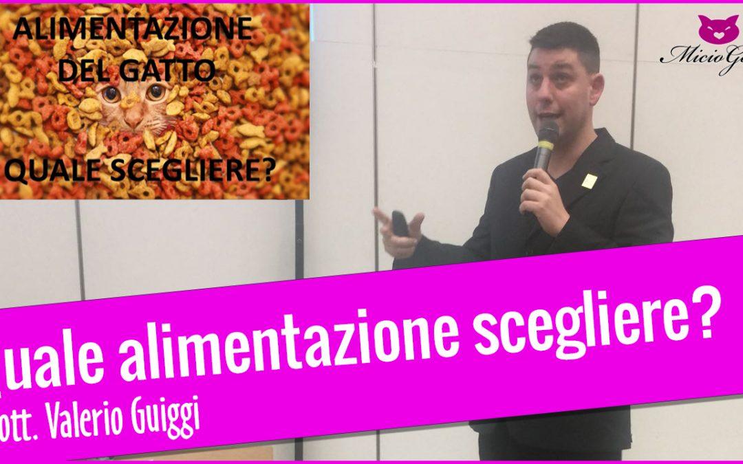 """Video completo del seminario """"Alimentazione del gatto: quale scegliere?"""" del dott. Valerio Guiggi"""